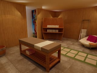 Concept wellness - spa Spa in stile rurale di Gualtiero Del Zompo dzarch Rurale