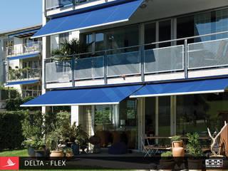 TOLDO DELTA FLEX: Hoteles de estilo  por PERSIANAS GABÍN