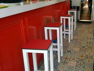 Taburetes cerveceria de Muebles Barman Mediterráneo