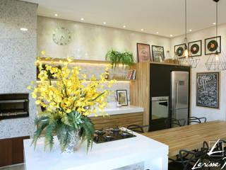 Larissa Reis Arquitetura Cocinas de estilo tropical
