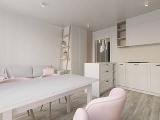 Mieszkanie WROCŁAW: styl , w kategorii Kuchnia zaprojektowany przez Paleta Form