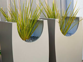 Highbury garden MyLandscapes Garden Design Taman Modern Aluminium/Seng