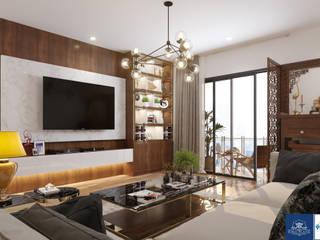 modern  von Công ty TNHH thiết kế nội thất KingPlace, Modern