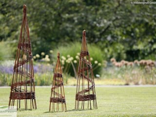 Rankelemente naturgeflechte24 Moderner Garten Holz