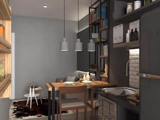 Condo Aspire sathorn-thapra:   by Fit Design Studio
