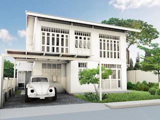 A house is made of walls and beams; a home is built with love and dreams โดย farseen studio limited