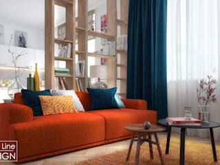 One Line Design Scandinavian style living room
