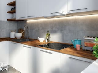 One Line Design Kitchen