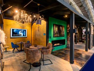 interior mx Moderne gangen, hallen & trappenhuizen van Loek van Walsem Fotografie Modern