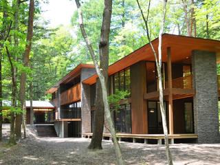 Modern Houses by 鎌田建築設計室 Modern