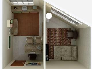 Consultório de Psicologia:   por Josi Banov Designer de Interiores