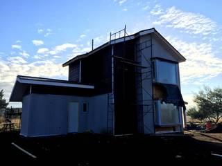 AEG Arquitectura, Asesoría y Construcción. Einfamilienhaus Holz Holznachbildung