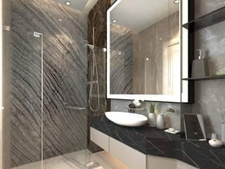 Grawisa Residence lucid interior BathroomBathtubs & showers