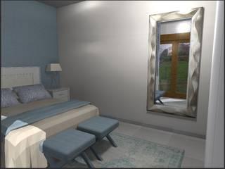 Dos opciones para un mismo dormitorio: Dormitorios de estilo  de LUMELAR MUEBLES Y DECORACION