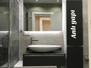 ANLI YAPI DEKORASYON anlı yapı dekorasyon BanyoDekorasyon Ahşap Beyaz