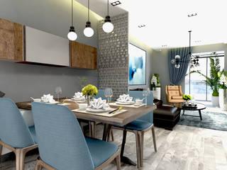 loftviz  – Mutfak, Günlük oturma:  tarz