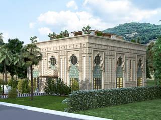 loftviz  – qatar,Bina,tasarım Villa:  tarz