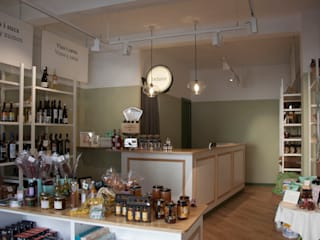 Mostrador: Oficinas y Tiendas de estilo  de ALBERT SALVIA dissenyador d'interiors