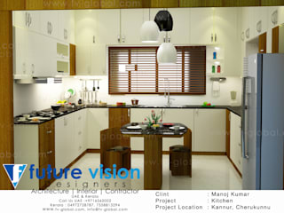 kitchen 3d view:   by shabin