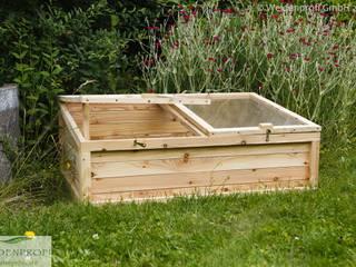Früh- und Hochbeete naturgeflechte24 Moderner Garten Holz