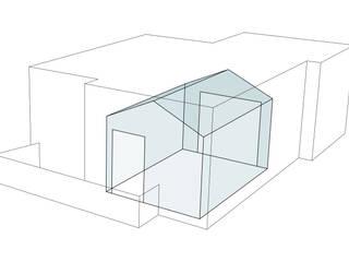 Una Casa in Casa: Soggiorno in stile  di GVultaggio Creative Office