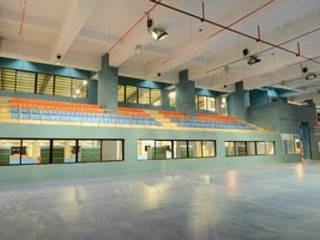 Basketball Court:  Stadiums by MRJ ASSOCIATES