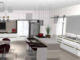 Cocinas de estilo moderno de CG Reforme e Decore Moderno