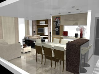 Modern Dining Room by CG Reforme e Decore Modern