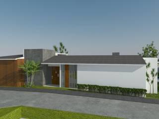 Casa en Cardel: Casas de estilo  por iMPAR taller de arquitectura