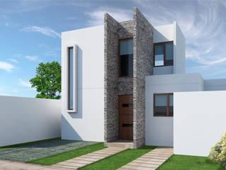 Terrace house by NEF Arq.