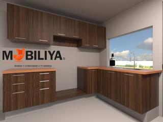 cocina concordia: Cocinas equipadas de estilo  por Muebles y proyectos Mobiliya