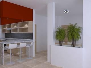 cocina: Cocinas equipadas de estilo  por Muebles y proyectos Mobiliya