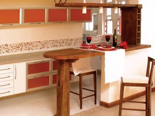 Cozinha Americana por Paula Posser + Arquitetura + Branding Design Moderno