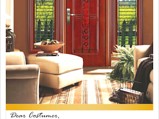 Modern style doors by PT. Golden Prima Sentosa Modern Iron/Steel