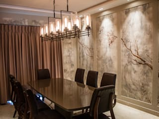 BUNGALOW- MR.ANURAG GOYEL Country style dining room by DESIGNER'S CIRCLE Country