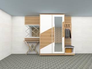 Ramazan Yücel İç mimarlık  – Portmanto-vestiyer: modern tarz , Modern
