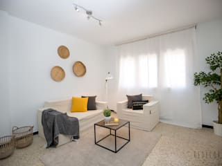 Proyecto Migdia Salones de estilo moderno de Redecoram Home Staging Moderno