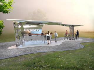 Bodega Haven - Kiosk Bar Ausgefallene Gastronomie von Peter Stasek Architects - Corporate Architecture Ausgefallen