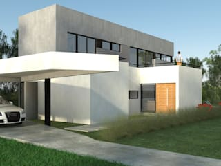 Houses by IMAGENES MR, Modern