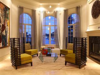 Living room by Claudia Luján,