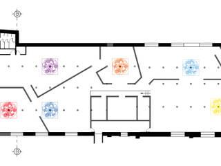 Proyecto del Museo Infantil de la Constancia Mexicana, Puebla, México.: Museos de estilo  por Soy Arquitectura