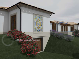 Traditional Design - New Concept: Casas de campo  por OPTIMIZE CAPRICE LDA