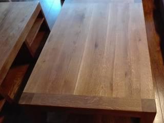 Meble dębowe do salonu od NaLata - Meble Drewniane, Ariel Młotkowski Klasyczny