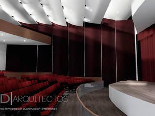 Interior Auditorio: Paredes de estilo  por Studio Arch'D Arquitectos