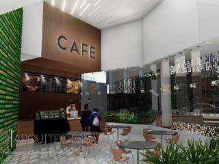 Cafeteria: Comedores de estilo  por Studio Arch'D Arquitectos