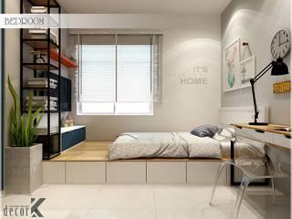 Bed Room Phòng ngủ phong cách châu Á bởi Công ty TNHH TMDV Decor KT Châu Á