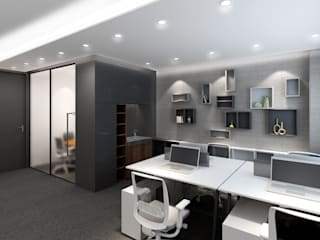 Modern office buildings by Artta Concept Studio Modern