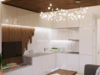 Built-in kitchens by Ёрумдизайн,