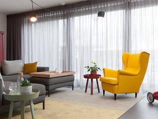 Woonhuis Schuytgraaf Arnhem:  Woonkamer door Inspiring Concepts, Modern