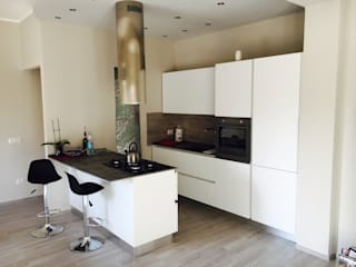 cARTE di Andrea Giannozzi Built-in kitchens Chipboard White